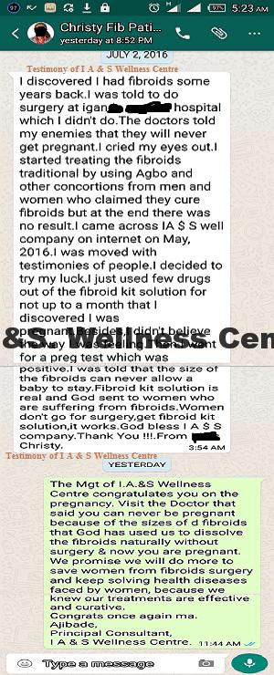Christy Testimony website copy
