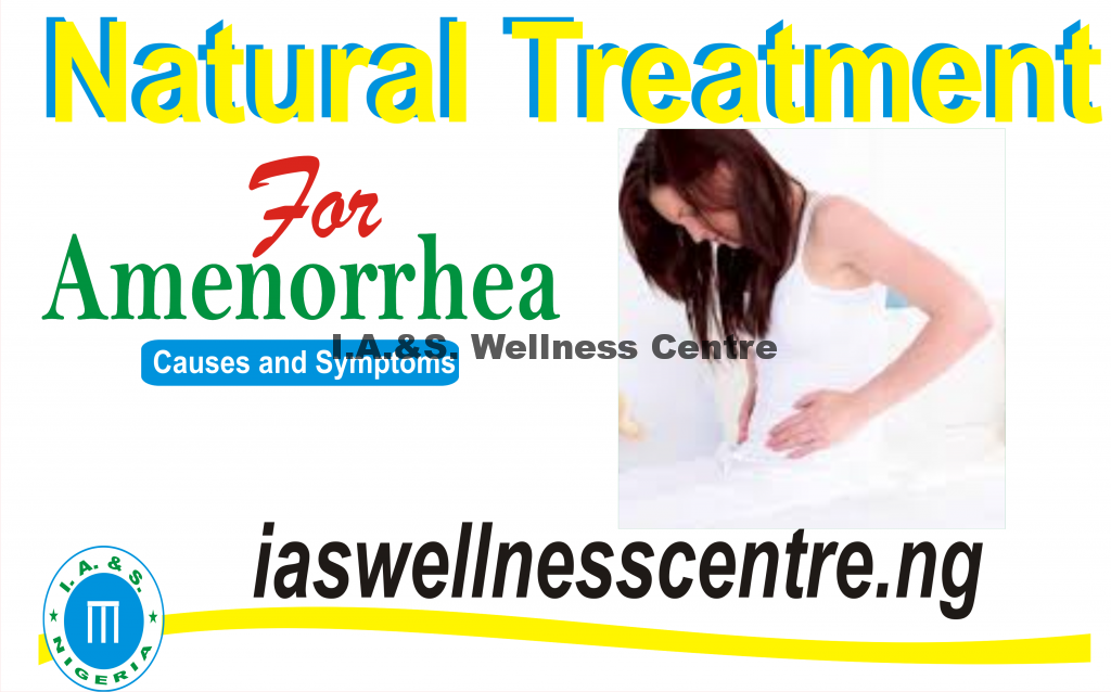 Natural Treatment For Amenorrhea