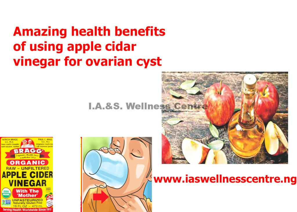 Amazing health benefit of apple cider vinegar